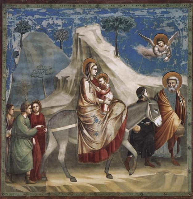 Fuga in Egitto (Giotto)