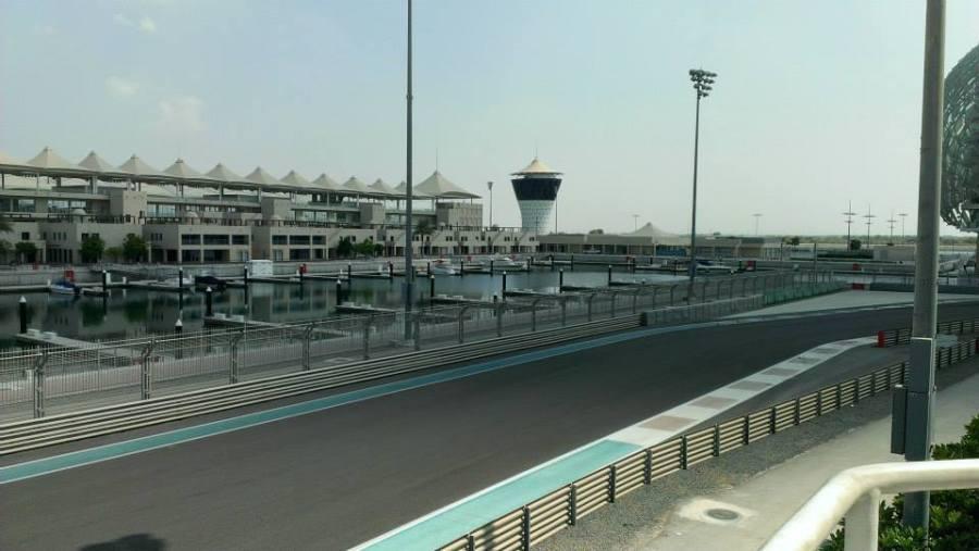 Yas Marina Circuit (Abu Dhabi), ottobre 2013